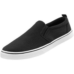 Zapatillas sin cordones Brandit Southampton en negro / blanco