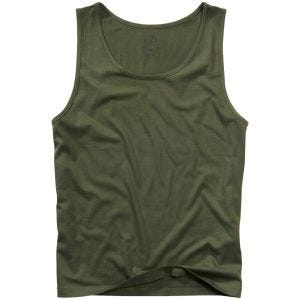 Camiseta de tirantes Brandit en Olive