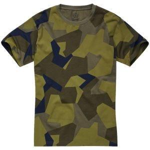Camiseta Brandit en Swedish Camo M90