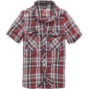 Camisa Brandit Roadstar en rojo