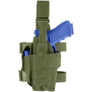 Funda de pistola para pierna izquierda Condor en Olive Drab