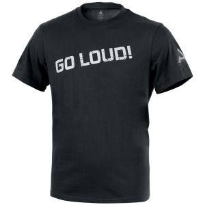 Camiseta con logo D.A. 3 Direct Action en negro