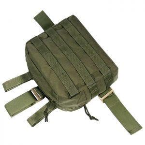 Bolsa de pierna para accesorios Flyye con sistema MOLLE en Ranger Green
