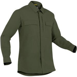 Camiseta de manga larga para hombre BDU First Tactical Specialist en OD Green