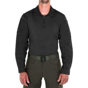 Camiseta para hombre First Tactical Defender en negro