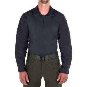 Camiseta para hombre First Tactical Defender en Midnight Navy