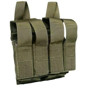 Funda para 2 cargadores de M4/M16 y 4 de pistola Flyye con sistema MOLLE en Ranger Green