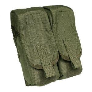 Portacargador doble para la pierna Flyye AK con sistema MOLLE en Ranger Green