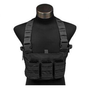Cinturón con tirantes para munición Flyye LAW ENF en negro