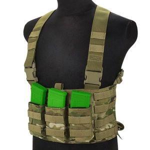 Cinturón con tirantes para munición Flyye LAW ENF en MultiCam