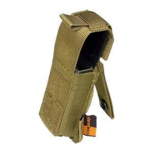 Portacargador Flyye .45 Pistol con sistema MOLLE en caqui
