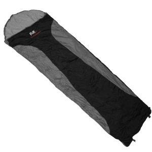 Saco de dormir Fox Outdoor Ultralight en negro / gris