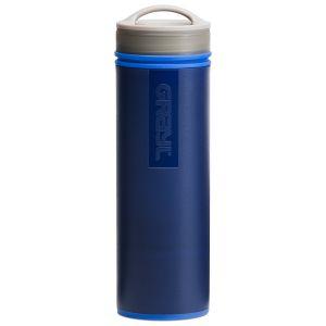 Botella purificadora de agua GRAYL Ultralight y filtro en azul