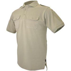Polo de combate para uniforme Hazard 4 LEO de secado rápido en Tan