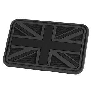 Parche en relieve Hazard 4 con bandera del Reino Unido en negro