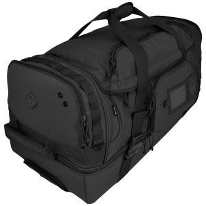 Bolsa de viaje resistente con ruedas Hazard 4 Shoreleave con diseño dividido en negro