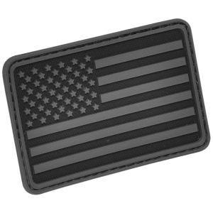 Parche Hazard 4 con bandera de Estados Unidos para el brazo izquierdo en negro