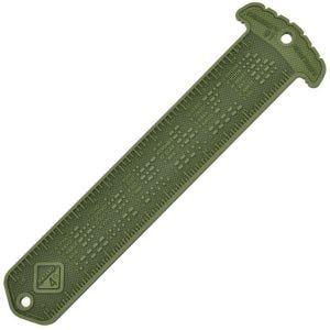 Leyenda para código MORSE y regla compatible con MOLLE Hazard 4 Cheatstick #1 en OD Green
