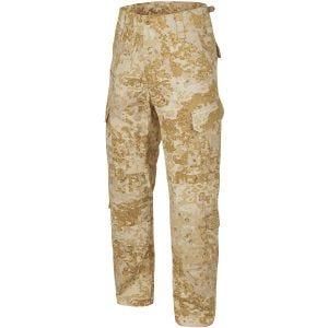 Pantalones Helikon CPU en PenCott Sandstorm