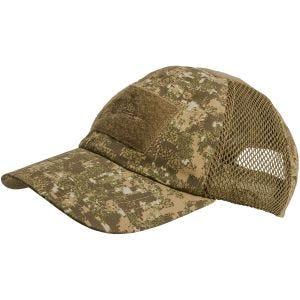 Gorra de béisbol Helikon Tactical con malla en PenCott Badlands
