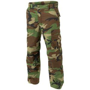 Pantalones Helikon Genuine BDU de Ripstop de polialgodón en Woodland