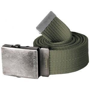 Cinturón de lona Helikon en Olive Green