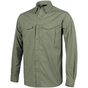 Camisa de manga larga Helikon Defender Mk2 en Olive Green