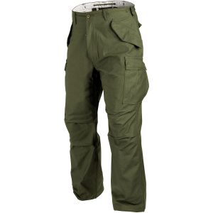 Pantalones Helikon M65 Combat en verde oliva