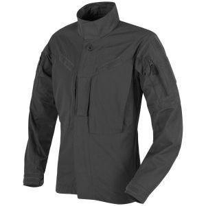 Camisa de nailon y algodón MBDU Helikon en negro