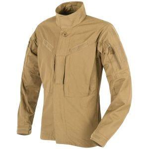 Camisa de nailon y algodón MBDU Helikon en Coyote