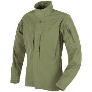 Camisa de nailon y algodón MBDU Helikon en Olive Green