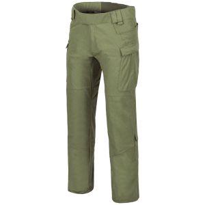 Pantalones de nailon y algodón MBDU Helikon en Olive Green