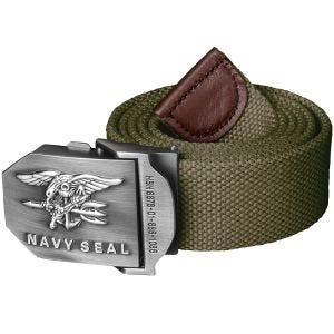 Cinturón Helikon Navy Seal en verde oliva