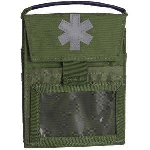 Bolsa de botiquín Helikon Pocket Med Insert en Olive Green