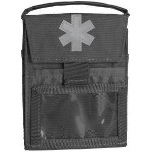 Bolsa de botiquín Helikon Pocket Med Insert en Shadow Grey