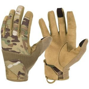 Guantes Helikon Range Tactical Hard en MultiCam/Coyote