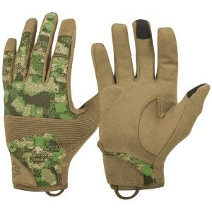 Guantes Helikon Range Tactical Hard en PenCott WildWood/Coyote