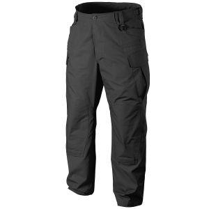 Pantalones Helikon SFU NEXT de Ripstop de polialgodón en negro