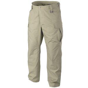 Pantalones Helikon SFU NEXT de Ripstop de algodón en caqui