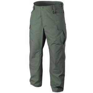 Pantalones Helikon SFU NEXT de Ripstop de polialgodón en Olive Drab
