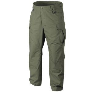 Pantalones Helikon SFU NEXT de sarga de polialgodón en Olive Green