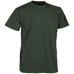 Camiseta Helikon en Jungle Green