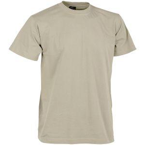 Camiseta Helikon en caqui