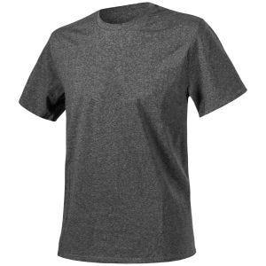 Camiseta Helikon jaspeada en negro-gris