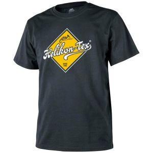 Camiseta Helikon Road Sign en negro