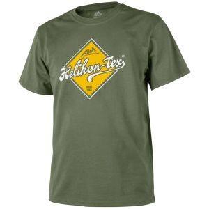 Camiseta Helikon Road Sign en Olive Green