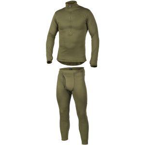 Set de ropa interior Helikon Gen III Level 2 en verde oliva