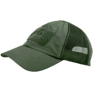 Gorra de béisbol Helikon Tactical con malla en Olive Drab