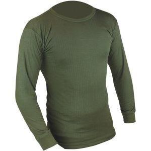 Camiseta interior Highlander Thermal Vest de manga larga en verde oliva