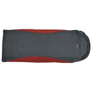 Saco de dormir Highlander Voyager Super Lite XL en Scarlet / Gunmetal
